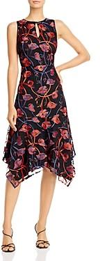 Sam Edelman Floral Embroidered Midi Dress
