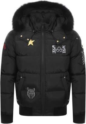 Moose Knuckles Colinton Bomber Jacket Black