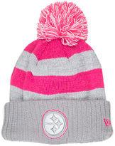 New Era Women's Pittsburgh Steelers NFL 2016 Breast Cancer Awareness Sport Knit Hat