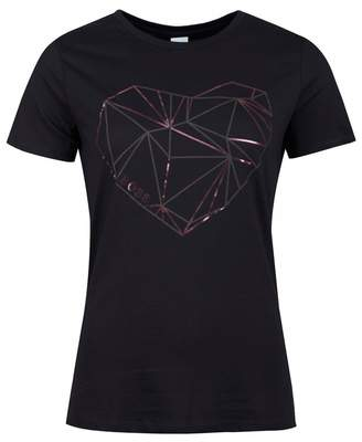 BOSS Tearty Graphic Logo Tshirt Colour: BLACK, Size: SMALL