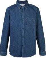 A.P.C. denim shirt - men - Cotton/Polyurethane - L