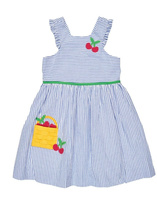 Florence Eiseman Cherry Basket Dress
