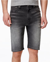 Levi's 569 Men's Loose-Fit Open Grey Shorts