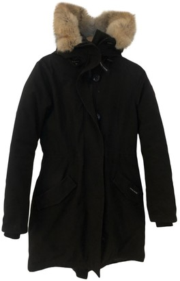 Canada Goose Rossclair Black Coat for Women