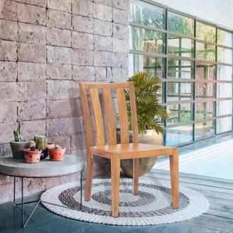 Chic Teak Boston Teak Wood Indoor/ Outdoor Dining Side Chair