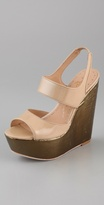 Savannah Platform Wedge Sandals