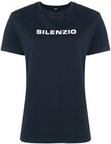 Aspesi Silenzio print T-shirt