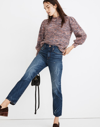 Madewell Classic Straight Jeans in Croston Wash