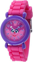 Sesame Street Girls Pink Strap Watch-Wss000032