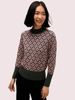 Kate Spade Spade Flower Turtleneck