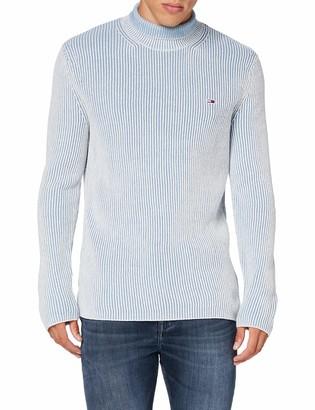 Tommy Jeans Male TJM HIGH Mock Sweater