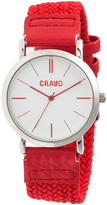 Crayo Red & Silver Symphony Watch