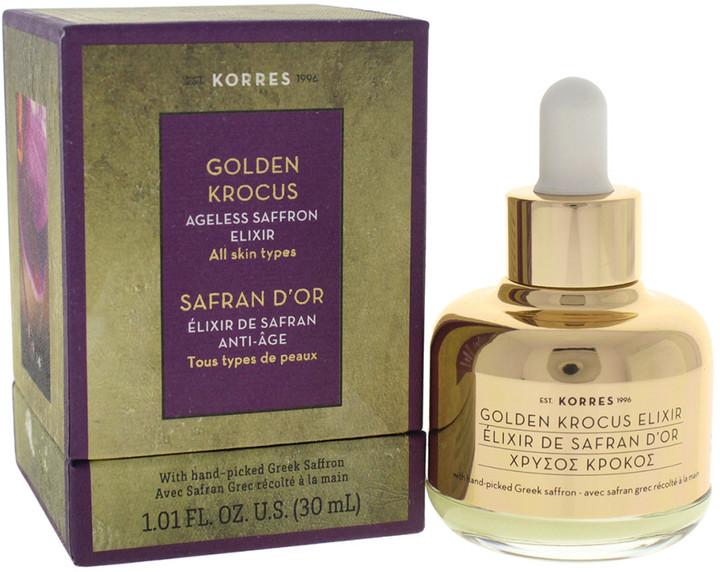 Korres 1 01oz Golden Krocus Ageless Saffron Elixir Shopstyle
