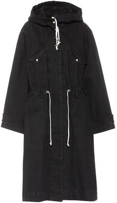 Etoile Isabel Marant Isabel Marant, étoile Lander cotton hooded trench coat
