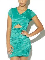 Arden B Shirred Slinky Dress