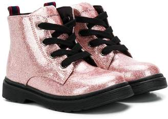 Tommy Hilfiger Junior glittery chunky boots