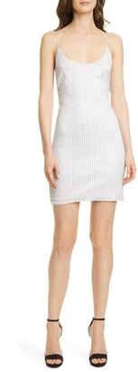 Alice + Olivia Nelle Sequin Minidress