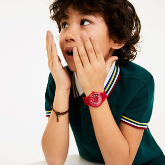 Lacoste Kid's 12.12 Watch with Red Silicone Strap