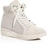 Gentle Souls Helka Perforated High Top Sneakers