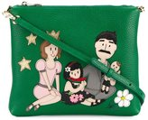 Dolce & Gabbana Family patch crossbody bag - women - Leather - One Size
