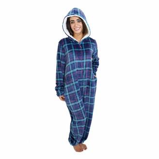 Cherokee Women's Adult Hooded Sleepwear Onesies