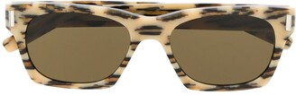 Saint Laurent Leopard Print Sunglasses