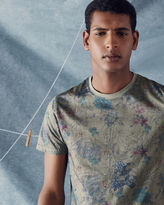 CELARY Floral print cotton Tshirt