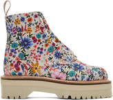 Dr. Martens White Wanderlust Sinclair Boots