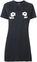 ALEXACHUNG Alexa Chung printed flower long T-shirt
