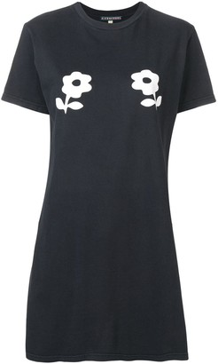 ALEXACHUNG Alexa Chung printed flower long T-shirt