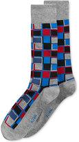 Alfani Men's Cubist Grid Socks, Created for Macy's