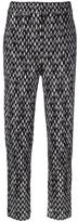 Missoni patterned knitted trousers - women - Nylon/Viscose/Wool - 42