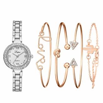 LABIUO Women's Quartz Diamond Crystal Strap Watch Analog Wrist Bracelet bracelet Watch