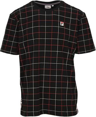 Fila Check Print T-Shirt