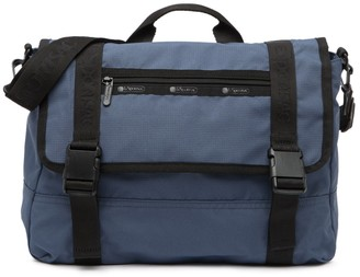 Le Sport Sac Tropical Camo Print Messenger Bag