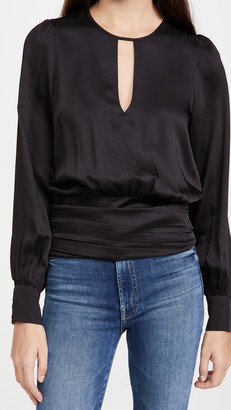 Good American Keyhole Blouse