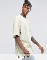 Reclaimed Vintage Super Oversized T-Shirt In Overdye