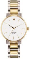 Kate Spade Two Tone Bracelet Gramercy Watch