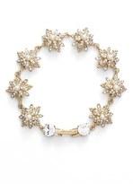 Marchesa Crystal & Faux Pearl Bracelet