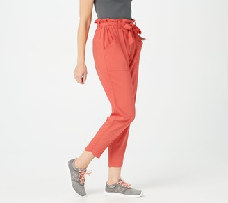 zuda Regular Cityscape Crop Pants