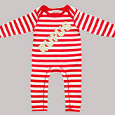 Nell Percy and Personalised Name In Lights Romper
