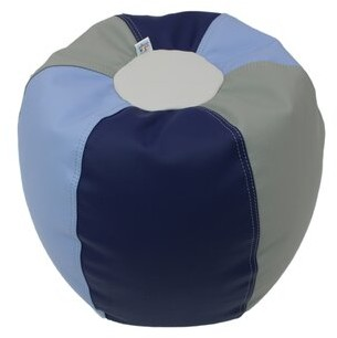 Factory Direct Partners Softscape Small Faux Leather Bean Bag Set
