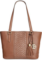 Giani Bernini Pebble Weave Tote, Only at Macy's