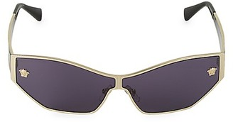 Versace 67MM Rectangular Sunglasses