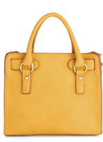 """Melie Bianco Full Course Load Bag in Yellow - 9.5"""""""