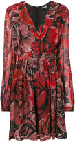 Just Cavalli - rose print dress