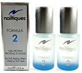 Nailtiques Nail Protein, Formula 2, 0.5 fl oz (14.8 ml) Set of 2