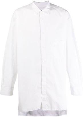 Yohji Yamamoto oversized button shirt