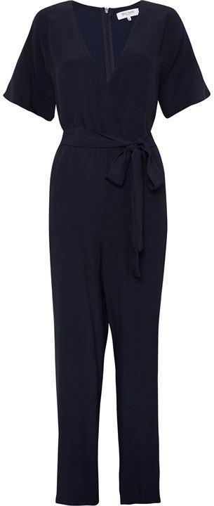 Great Plains Easy Drape Belted Wrap Jumpsuit