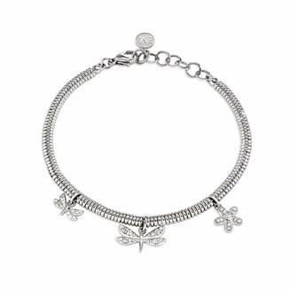 Morellato Women Stainless Steel Charm Bracelet - SAJA10